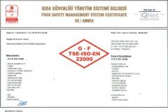 ISO-22000 kapsam